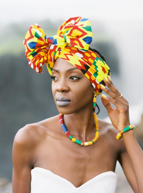 Black Panther Inspired African Wedding Ideas – Livingstone Island – Zambia – Love From Mwai – Stepan Vrzala 80