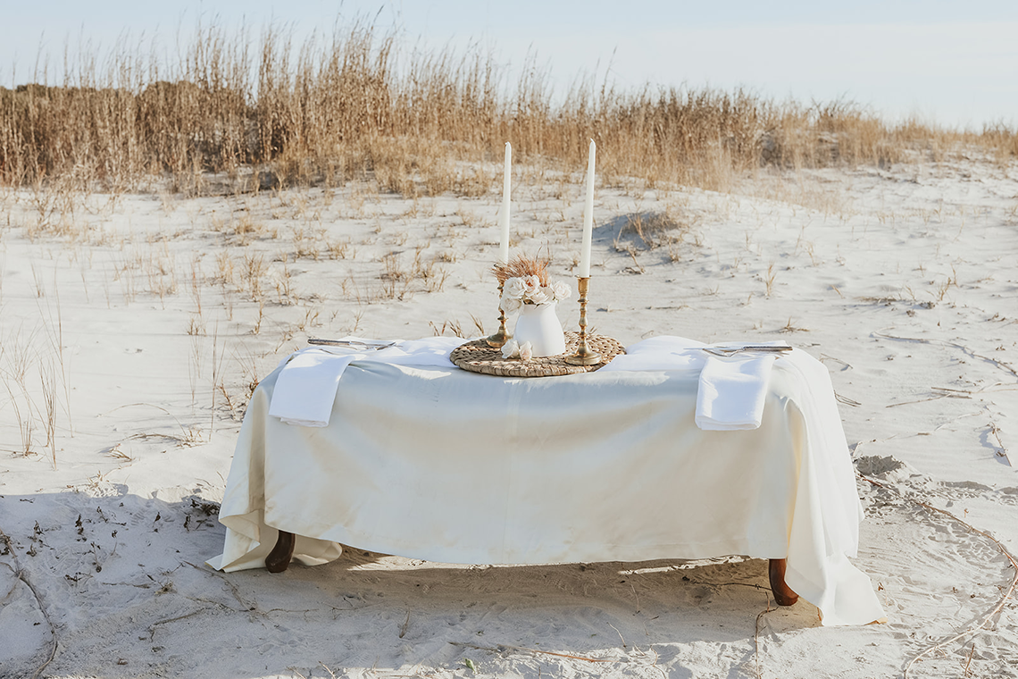 Bohemian Beach Wedding Inspiration With Agave Decor – Georgia Grace – Salt and Stem 1