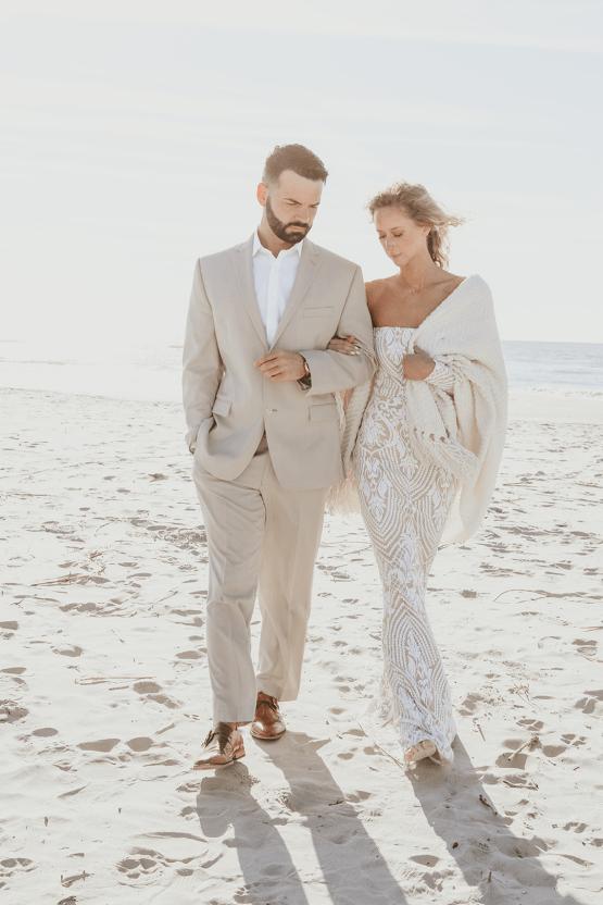 Bohemian Beach Wedding Inspiration With Agave Decor – Georgia Grace – Salt and Stem 10