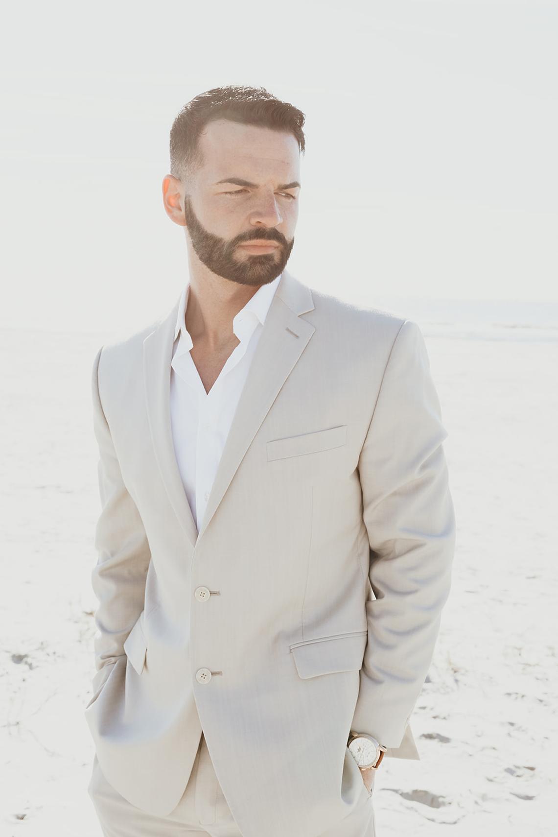 Bohemian Beach Wedding Inspiration With Agave Decor – Georgia Grace – Salt and Stem 21