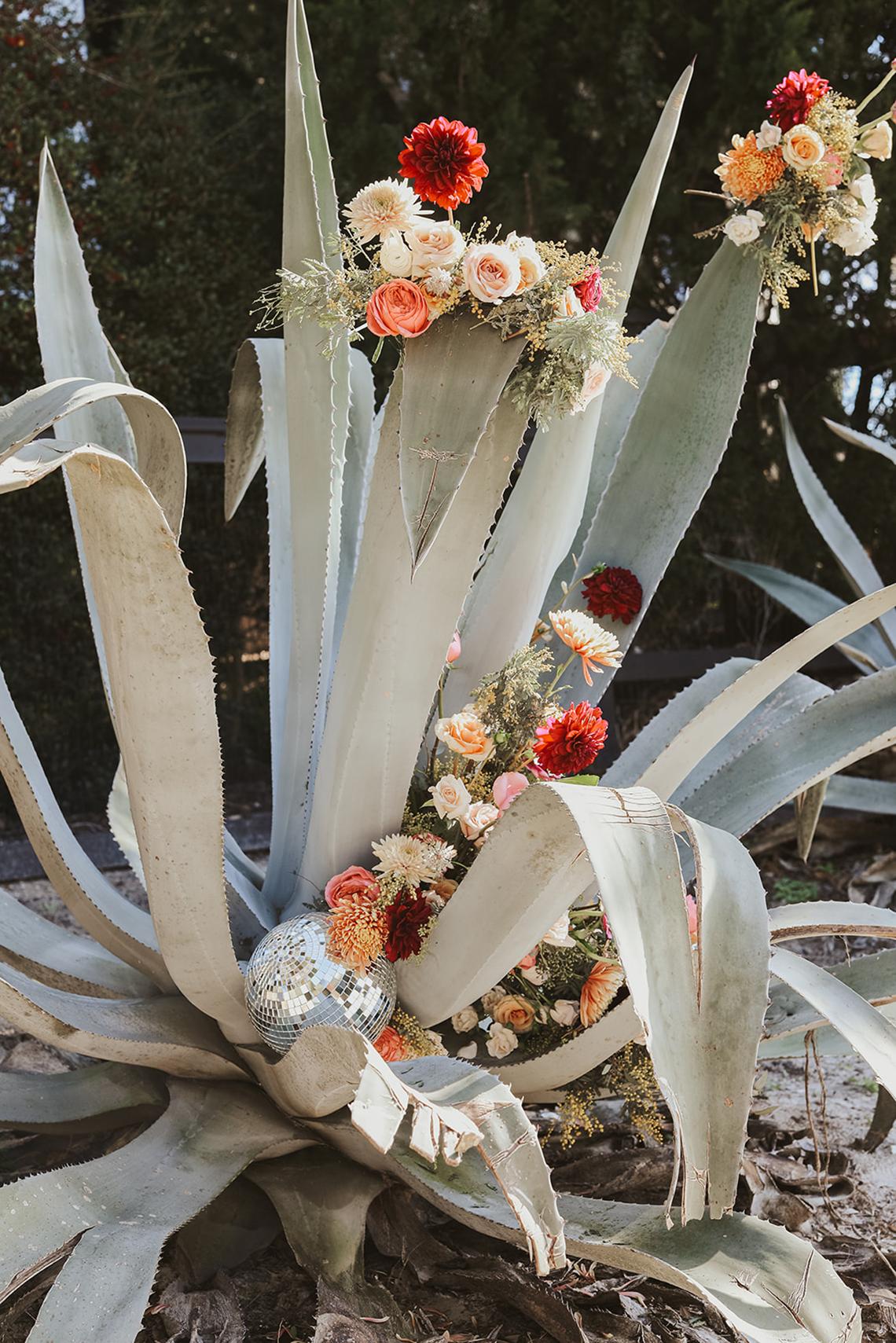 Bohemian Beach Wedding Inspiration With Agave Decor – Georgia Grace – Salt and Stem 42
