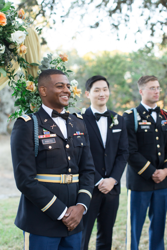 Glamorous Military Wedding in Texas – Angela Lally Photography 17