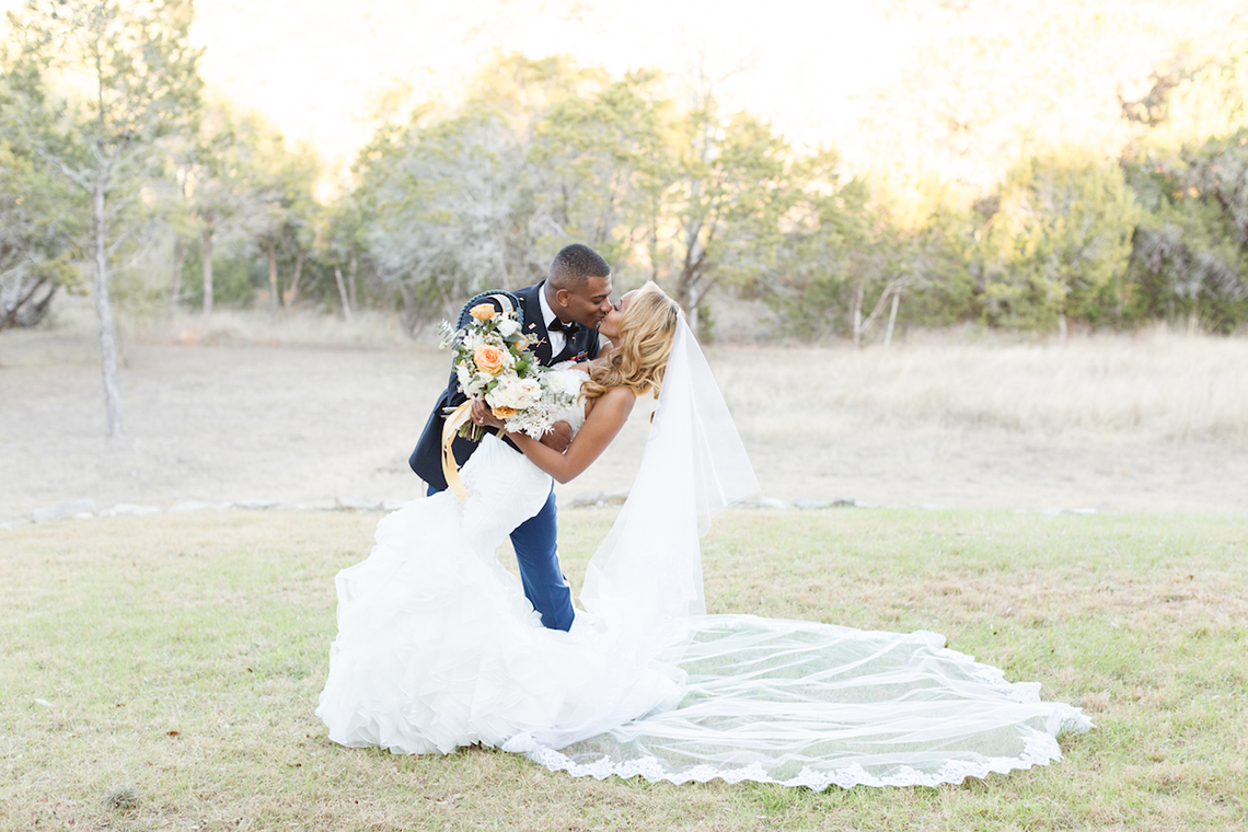 Glamorous Military Wedding in Texas – Angela Lally Photography 2