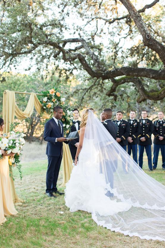 Glamorous Military Wedding in Texas – Angela Lally Photography 20