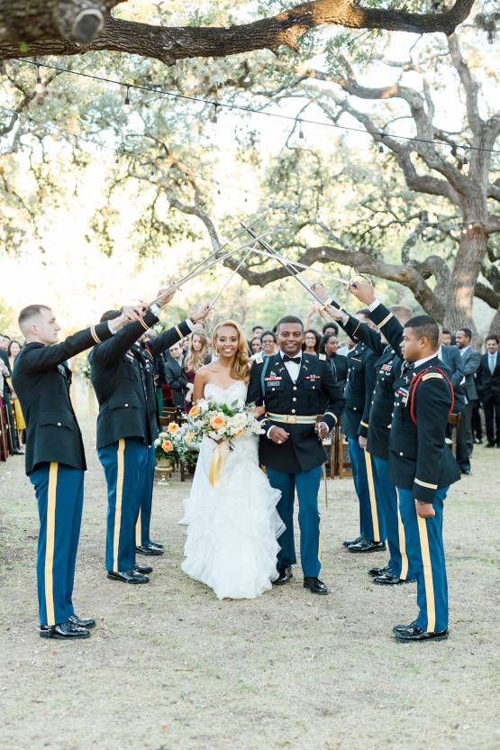Glamorous Military Wedding in Texas – Angela Lally Photography 23