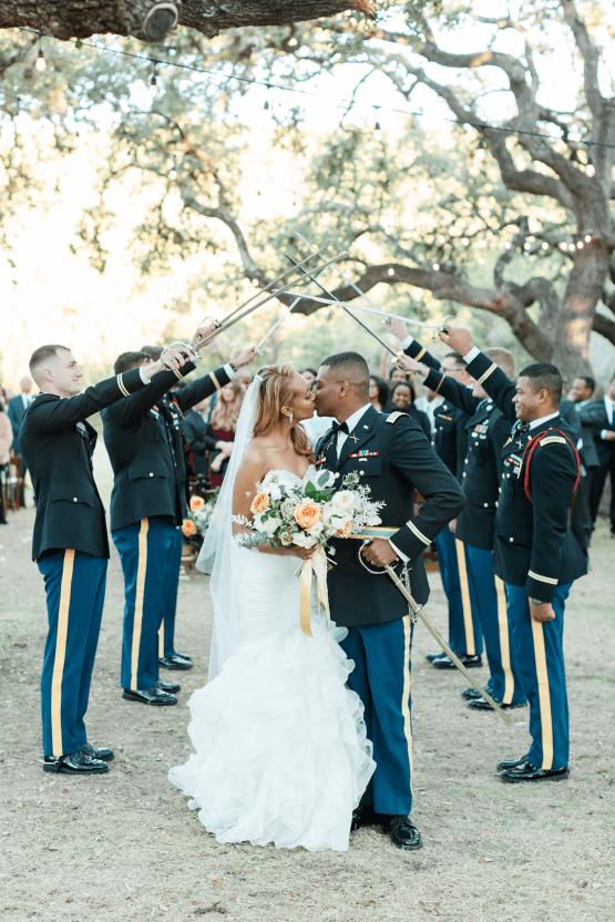 Glamorous Military Wedding in Texas – Angela Lally Photography 24