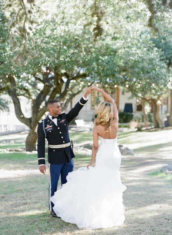 Glamorous Military Wedding in Texas – Angela Lally Photography 43