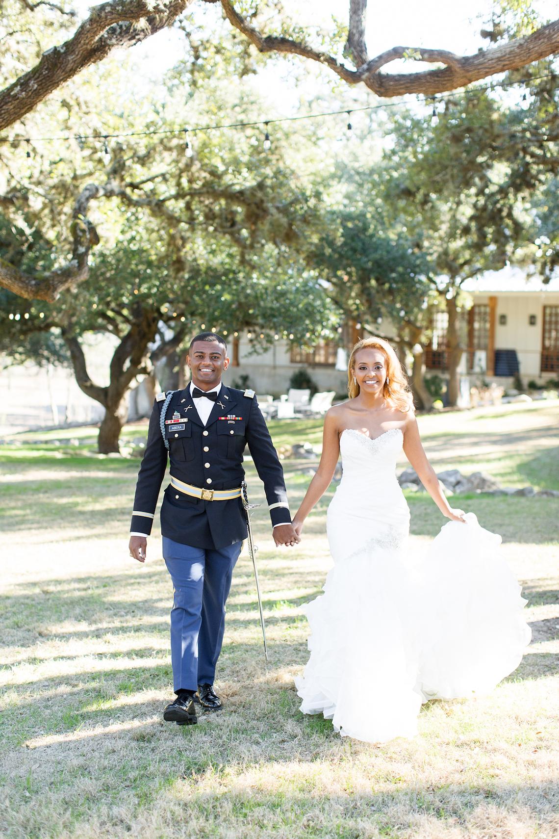 Glamorous Military Wedding in Texas – Angela Lally Photography 52