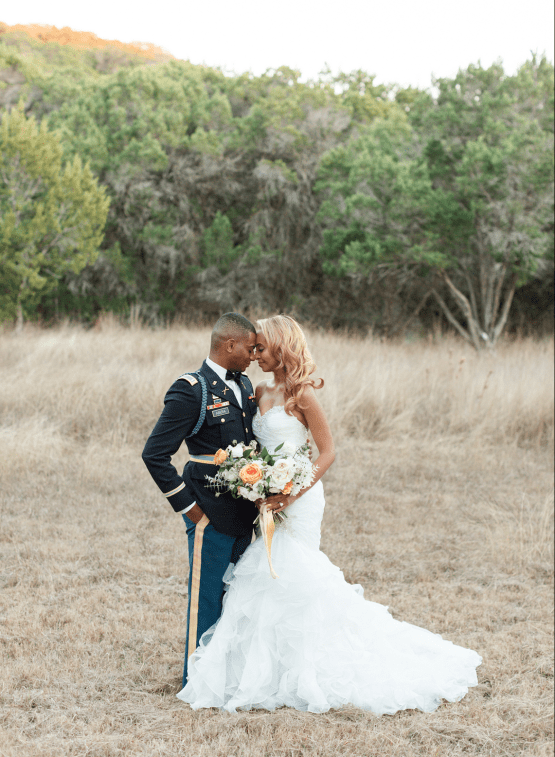 Glamorous Military Wedding in Texas – Angela Lally Photography 57