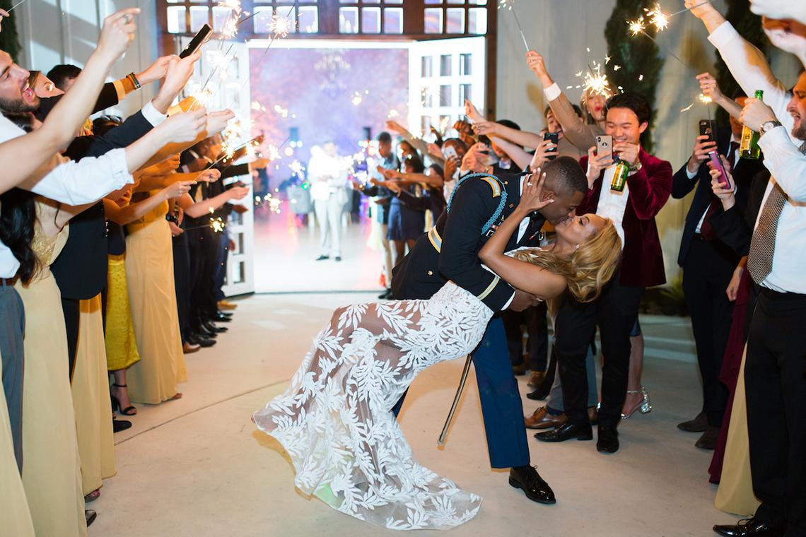 Glamorous Military Wedding in Texas – Angela Lally Photography 8