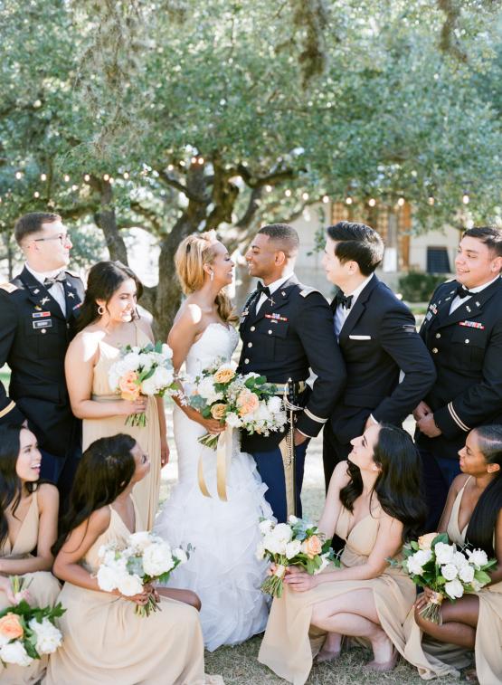 Glamorous Military Wedding in Texas – Angela Lally Photography 80