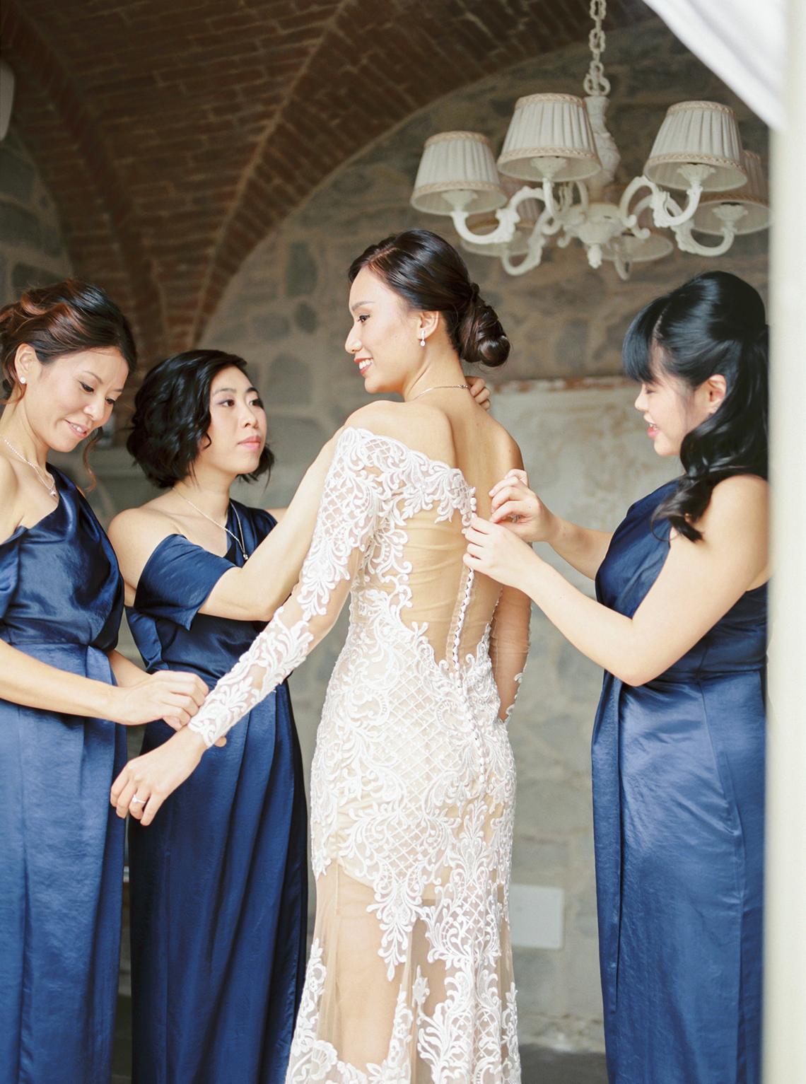 Romantic Florence Destination Wedding at Villa le Fontanelle – Olga Makarova 18