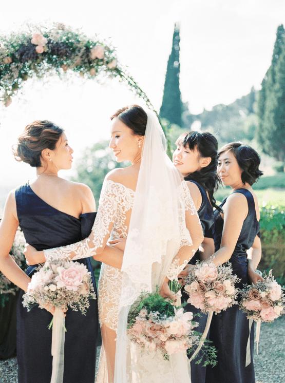 Romantic Florence Destination Wedding at Villa le Fontanelle – Olga Makarova 67