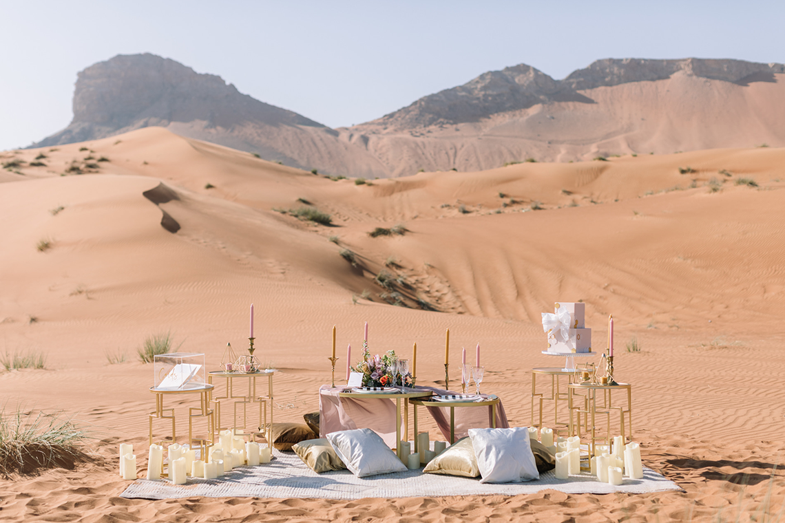 Chic Elopement in the Arabian Desert – Effleurer Photo 1