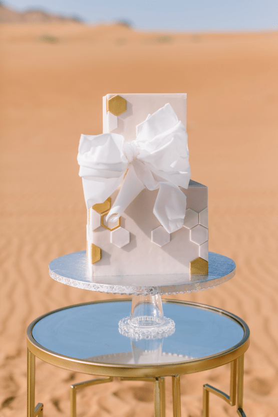 Chic Elopement in the Arabian Desert – Effleurer Photo 12