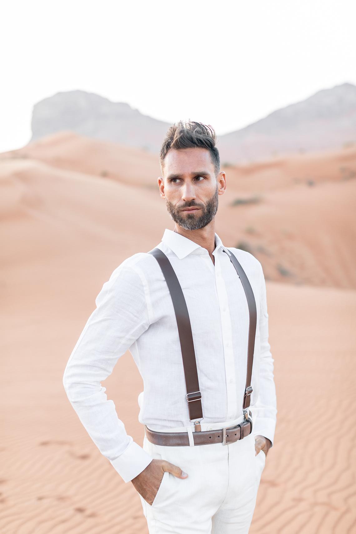 Chic Elopement in the Arabian Desert – Effleurer Photo 17
