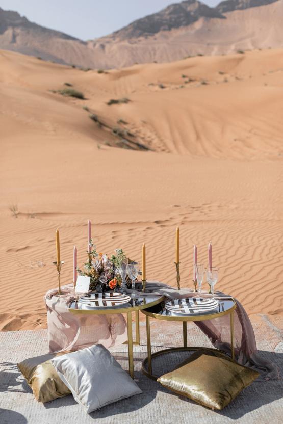Chic Elopement in the Arabian Desert – Effleurer Photo 9