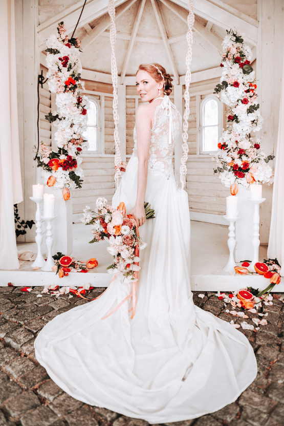 Citrus and Peach Spring Wedding Inspiration from Germany – Time for Wedding – Eine Liebe Lang Hochzeitsfotografin 13