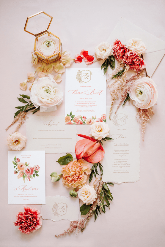 Citrus and Peach Spring Wedding Inspiration from Germany – Time for Wedding – Eine Liebe Lang Hochzeitsfotografin 27