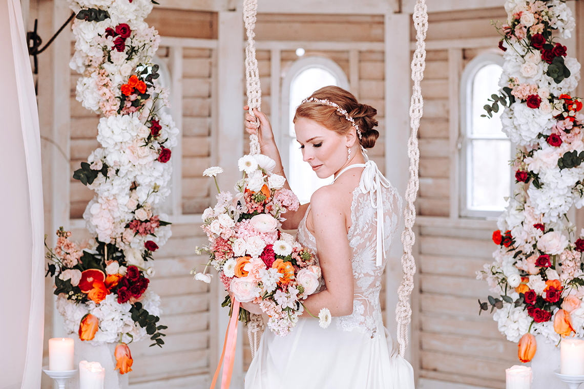 Citrus and Peach Spring Wedding Inspiration from Germany – Time for Wedding – Eine Liebe Lang Hochzeitsfotografin 36