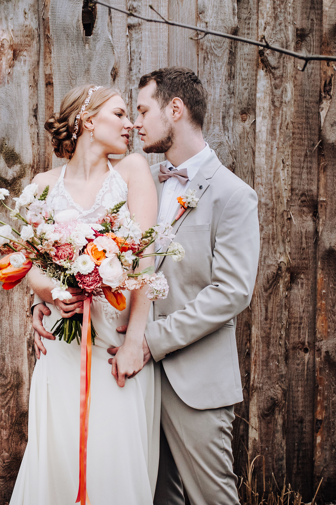 Citrus and Peach Spring Wedding Inspiration from Germany – Time for Wedding – Eine Liebe Lang Hochzeitsfotografin 4
