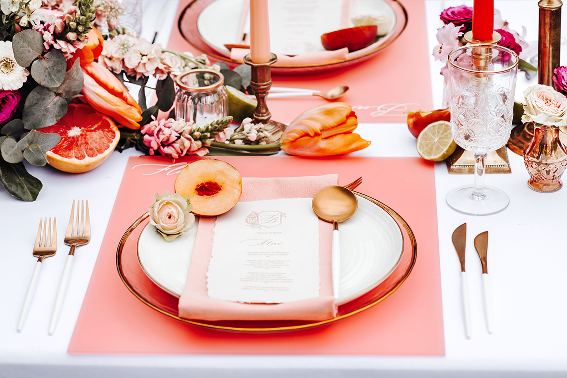 Citrus and Peach Spring Wedding Inspiration from Germany – Time for Wedding – Eine Liebe Lang Hochzeitsfotografin 44