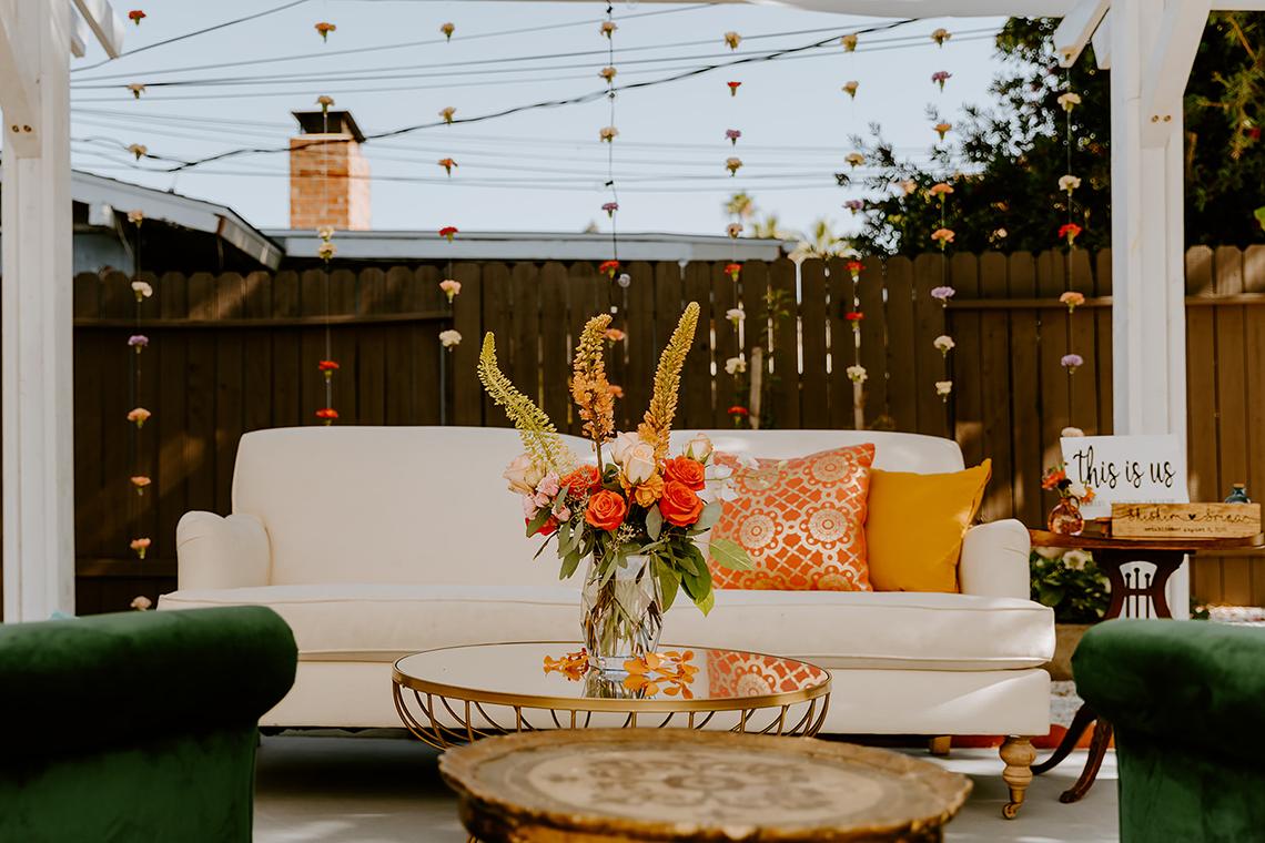 Intimate Backyard Indian Wedding – Carmelisse Photography – Leilani Weddings 12