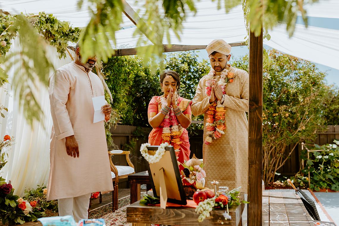 Intimate Backyard Indian Wedding – Carmelisse Photography – Leilani Weddings 16
