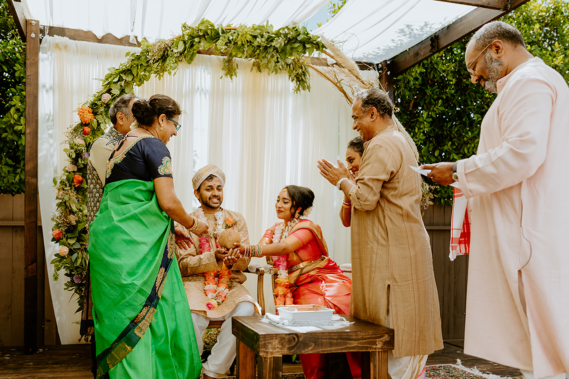 Intimate Backyard Indian Wedding – Carmelisse Photography – Leilani Weddings 18