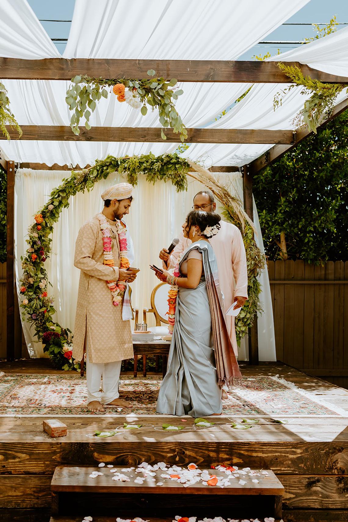 Intimate Backyard Indian Wedding – Carmelisse Photography – Leilani Weddings 25