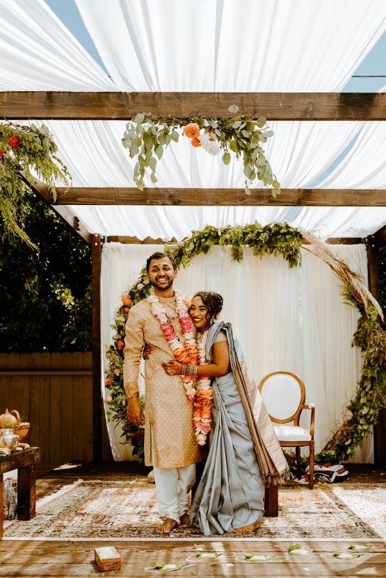 Intimate Backyard Indian Wedding – Carmelisse Photography – Leilani Weddings 42