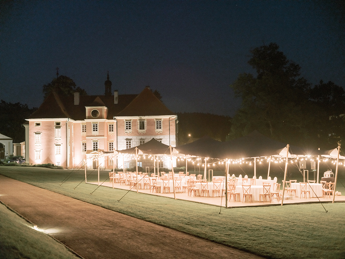 Opulent Traditional Czech Wedding in a Pink Castle – Tomas Dolejsi – Chateau Mitrowicz 12