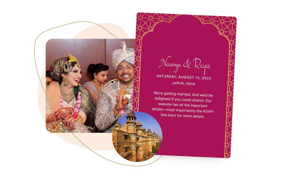 Our Favorite Free Wedding Website Builder and Registry – Joy – Bridal Musings – Digital Invite