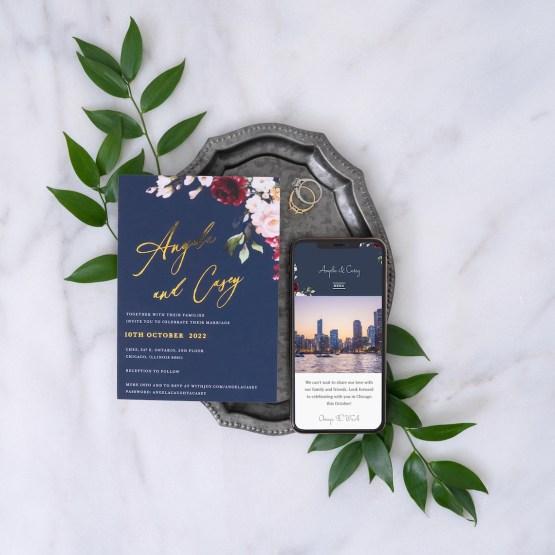 Our Favorite Free Wedding Website Builder and Registry – Joy – Bridal Musings – La Butte Theme – 1
