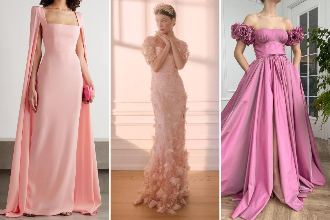 30 Best Pink Wedding Dresses 2021 2022 – Bridal Musings