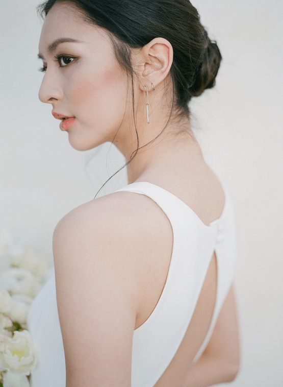 Clean and Cool Wedding Inspiration at the Los Angeles Cara Hotel – Milk Events – Jeremy Chou Photography 13