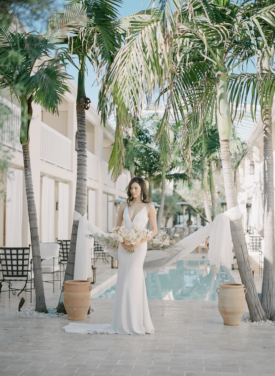 Clean and Cool Wedding Inspiration at the Los Angeles Cara Hotel – Milk Events – Jeremy Chou Photography 28