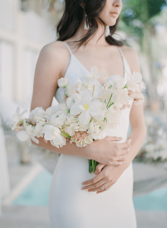 Clean and Cool Wedding Inspiration at the Los Angeles Cara Hotel – Milk Events – Jeremy Chou Photography 29