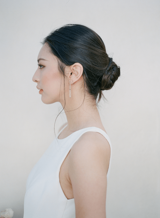 Clean and Cool Wedding Inspiration at the Los Angeles Cara Hotel – Milk Events – Jeremy Chou Photography 42