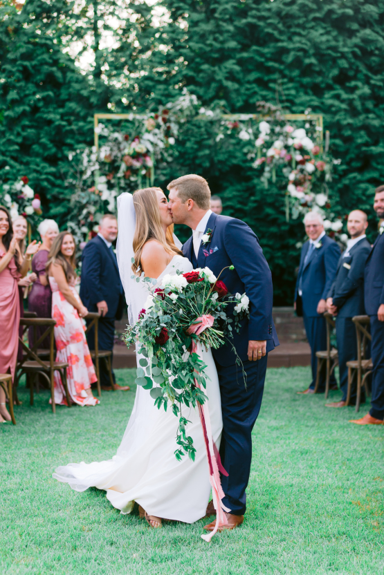 Indianapolis Colts Wedding – Former Colts Reporter and Assistant Coach are Married by Head Coach Frank Reich in Mississippi – Angela Lally Photography 18
