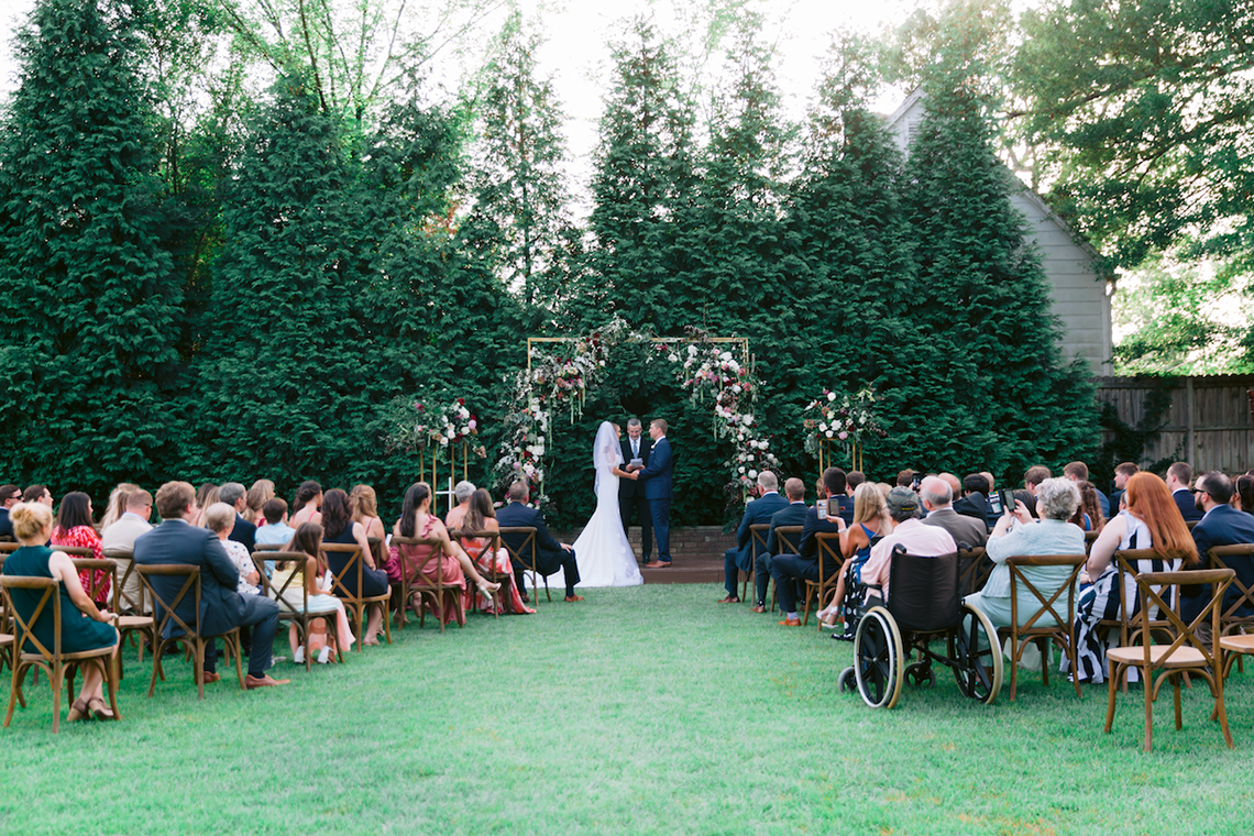 Indianapolis Colts Wedding – Former Colts Reporter and Assistant Coach are Married by Head Coach Frank Reich in Mississippi – Angela Lally Photography 2