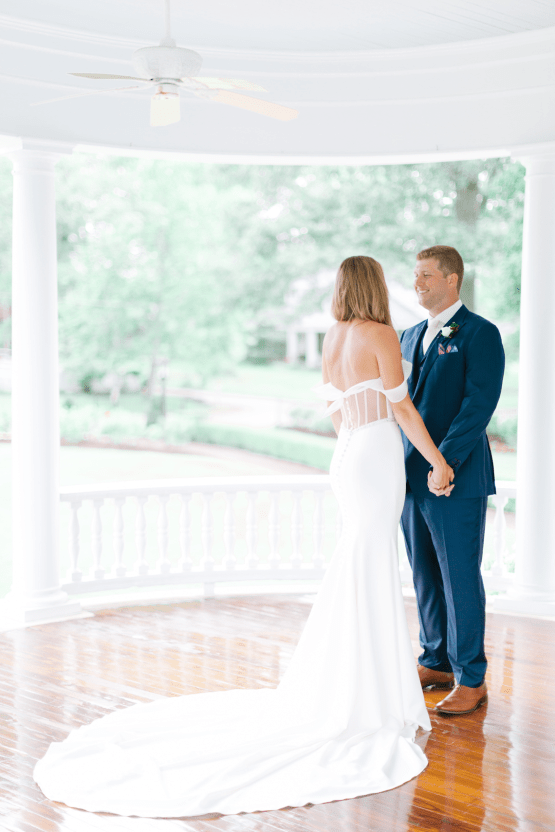 Indianapolis Colts Wedding – Former Colts Reporter and Assistant Coach are Married by Head Coach Frank Reich in Mississippi – Angela Lally Photography 25