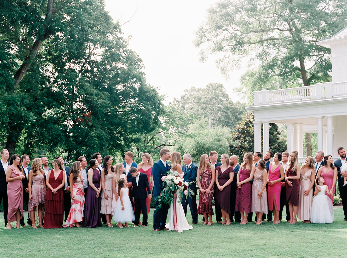 Indianapolis Colts Wedding – Former Colts Reporter and Assistant Coach are Married by Head Coach Frank Reich in Mississippi – Angela Lally Photography 7