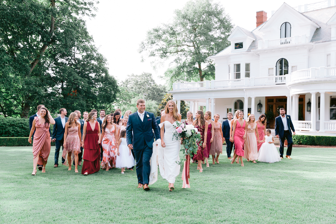 Indianapolis Colts Wedding – Former Colts Reporter and Assistant Coach are Married by Head Coach Frank Reich in Mississippi – Angela Lally Photography 8