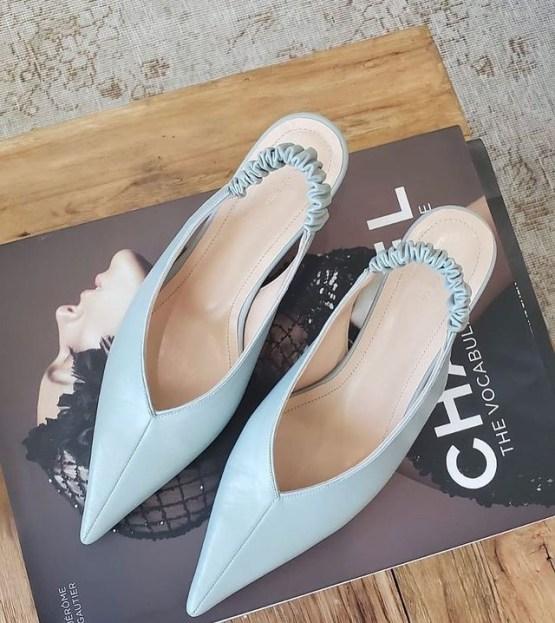 Something Blue Bridal Heels Wedding Shoes – Bridal Musings