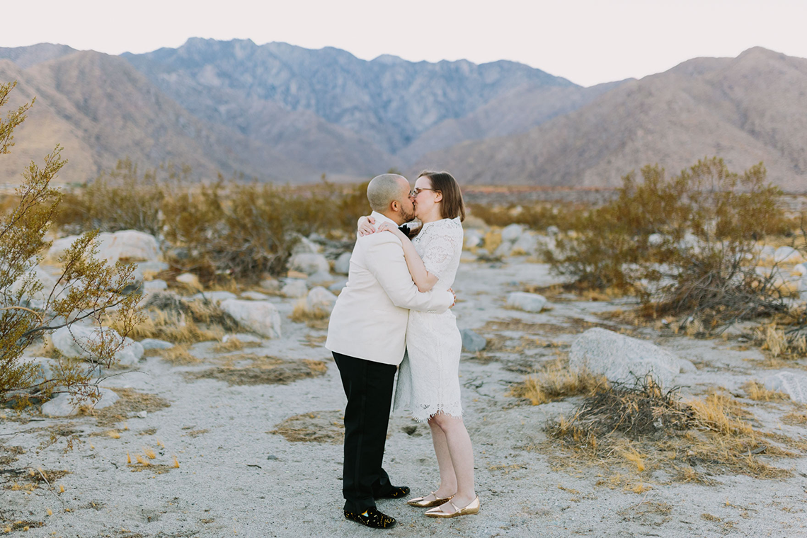 Stylish and Modern Covid-Safe Private Elopement in Palm Springs – Lets Frolic Together Photography 15