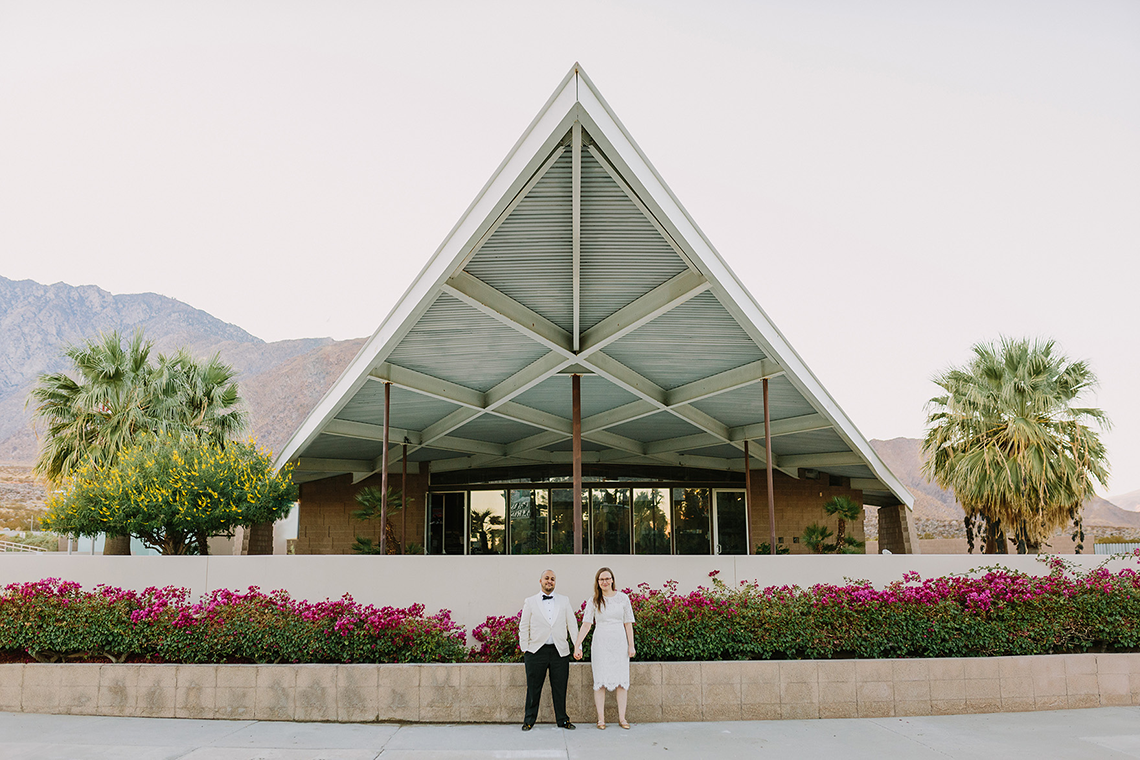Stylish and Modern Covid-Safe Private Elopement in Palm Springs – Lets Frolic Together Photography 16