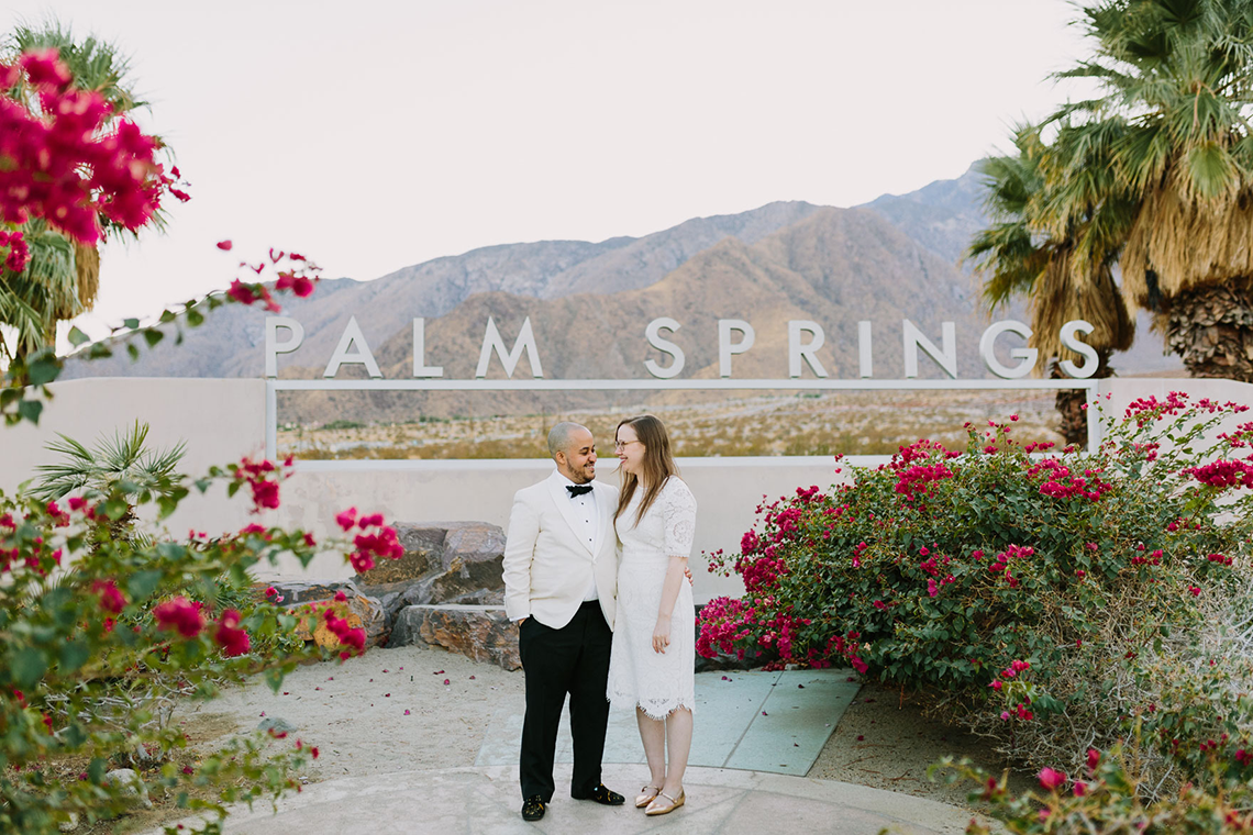 Stylish and Modern Covid-Safe Private Elopement in Palm Springs – Lets Frolic Together Photography 19