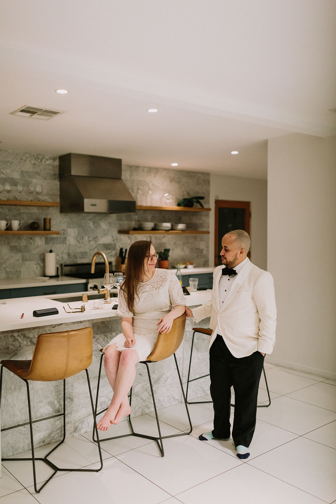 Stylish and Modern Covid-Safe Private Elopement in Palm Springs – Lets Frolic Together Photography 64