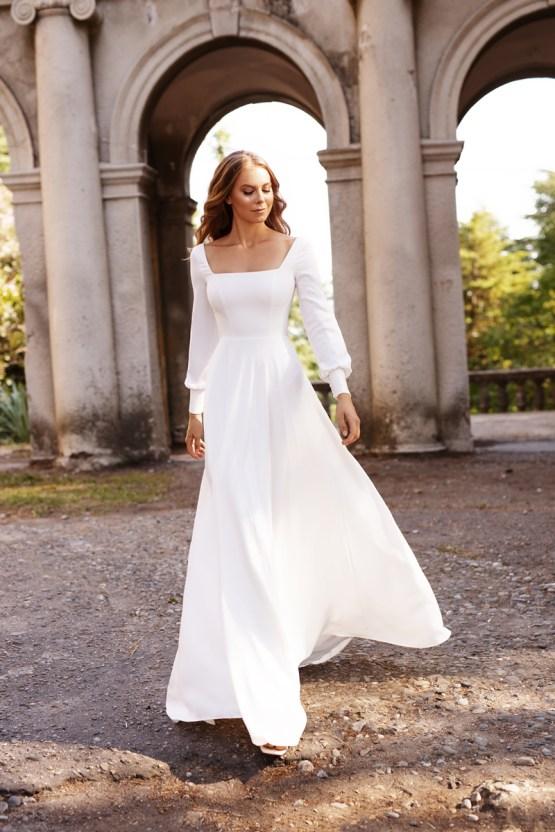 Ultra-Stylish New Wedding Dresses By Mila Bridal (For Under 1000) – Bella Dress – Bridal Musings 6